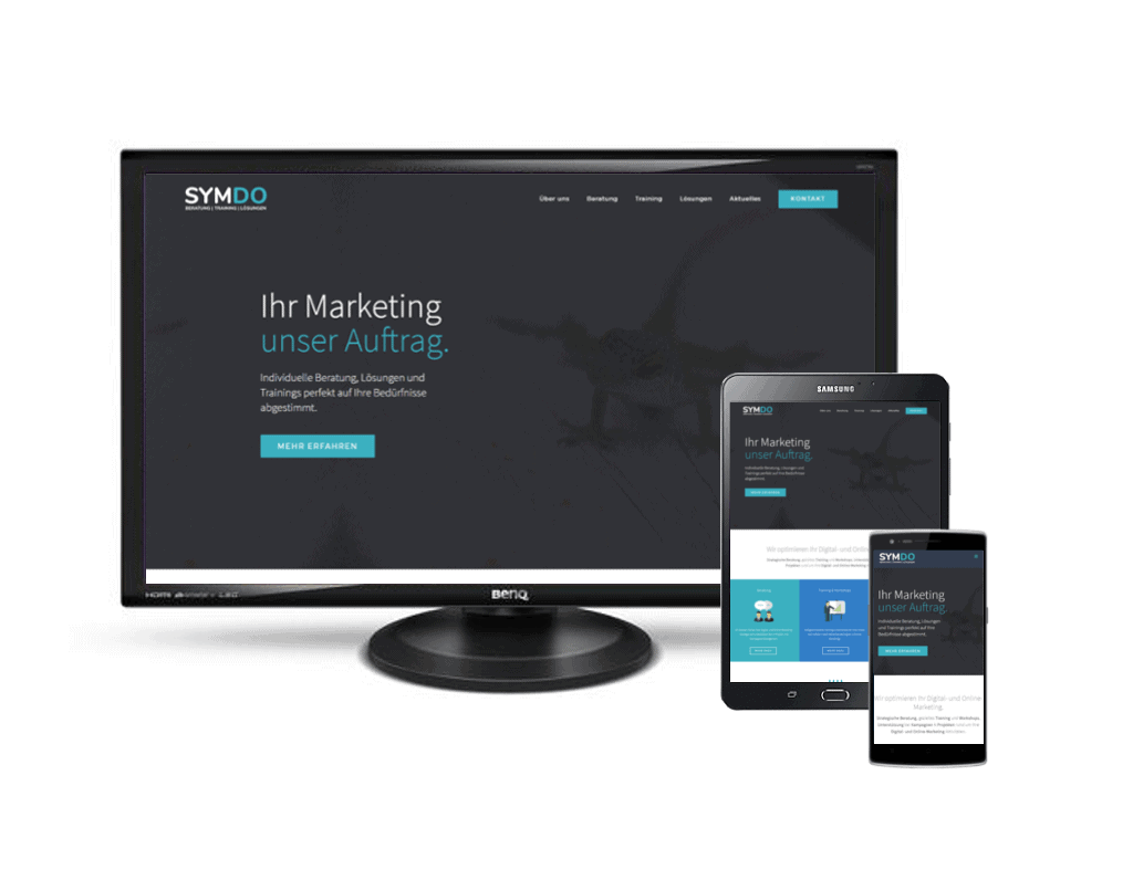 SYMDO Website-Services